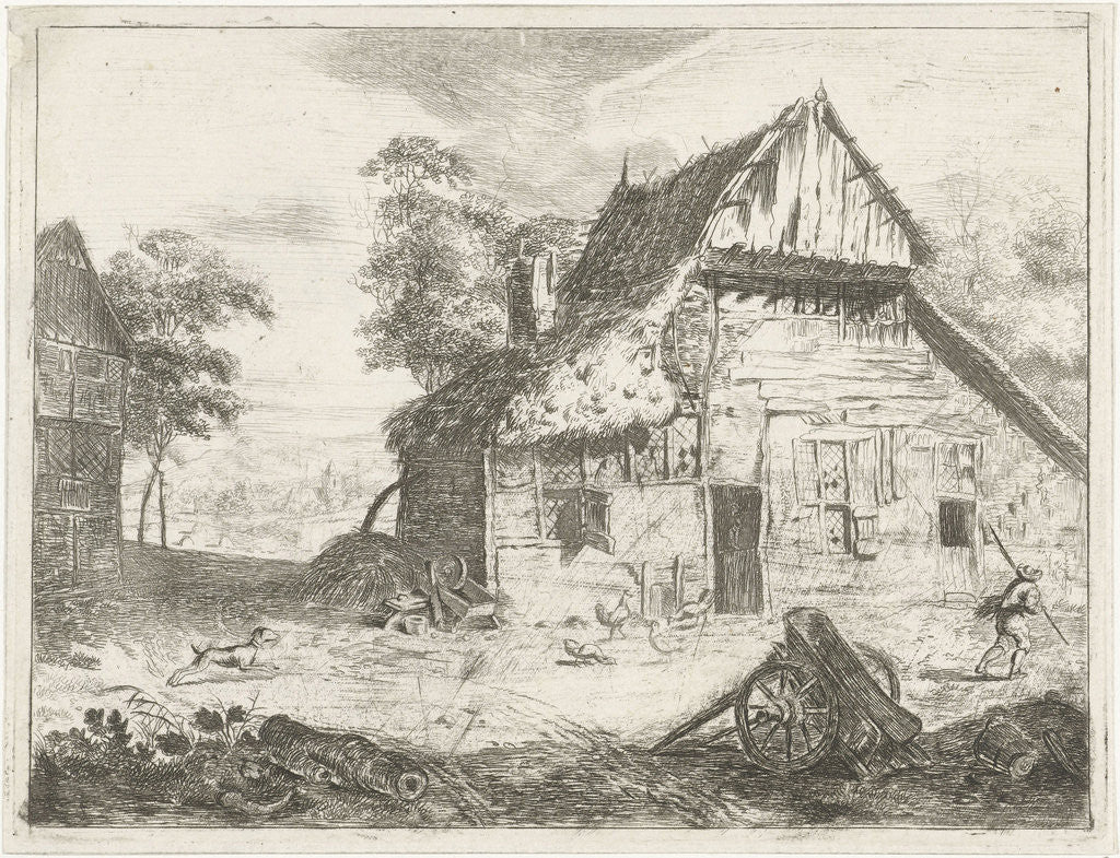 Detail of Farm by Jabez Heenck