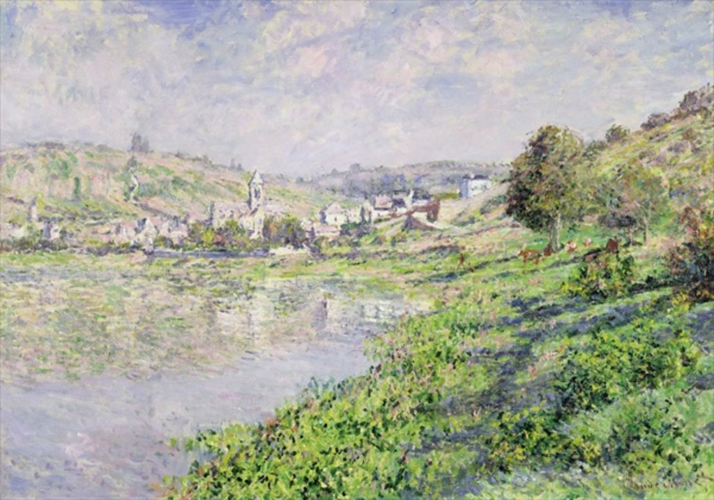 Detail of Vetheuil, 1879 by Claude Monet