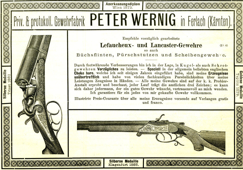 Hunt Gun Austria 1891 by Anonymous