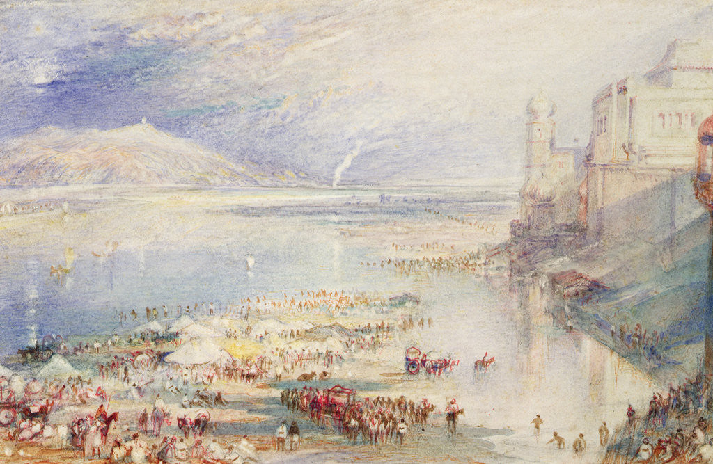 Detail of Part of the Ghaut at Hurdwar, c.1835 by Joseph Mallord William Turner