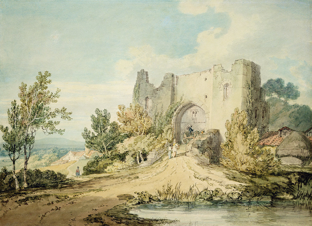 Detail of Llanblethian Castle Gateway, 1797 by Joseph Mallord William Turner