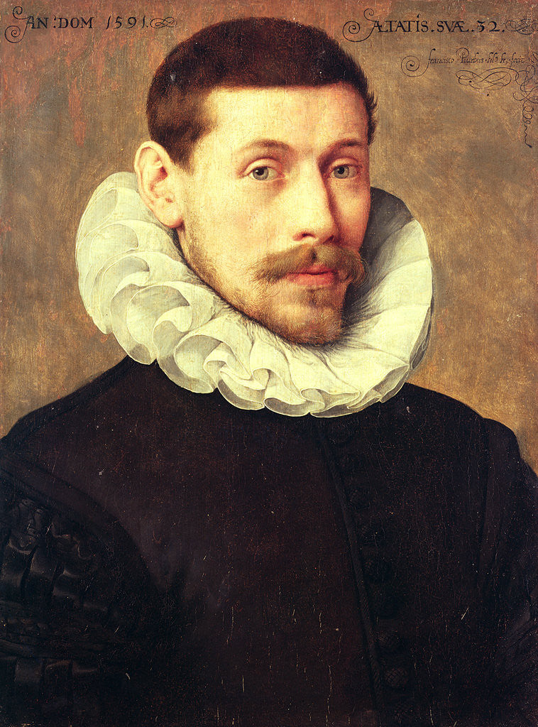 Portrait of a Man, aged 32, 1591 by Frans II Pourbus