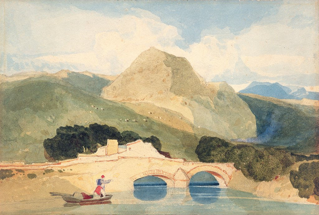 Detail of Tan-y-Bwlch by John Sell Cotman
