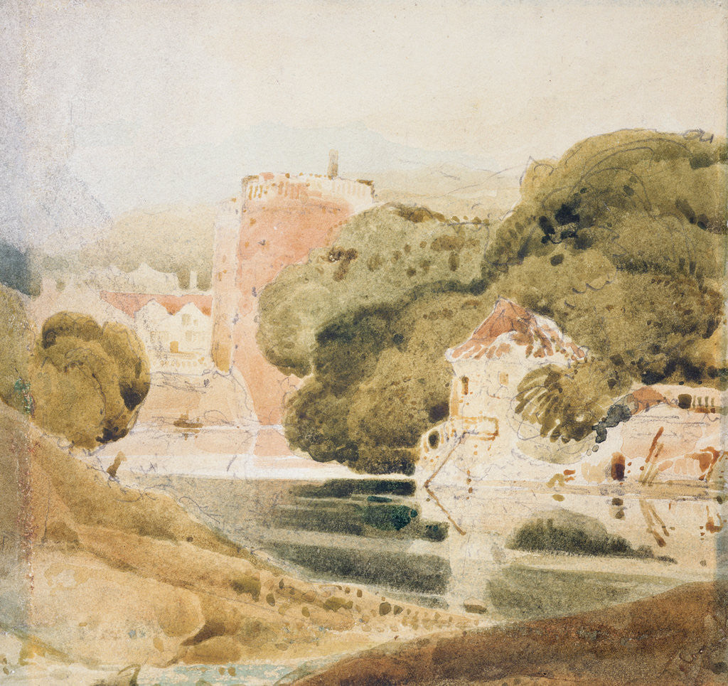 Detail of The Water Gate, York by John Sell Cotman