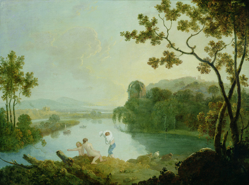 Detail of Classical Landscape by Richard Wilson
