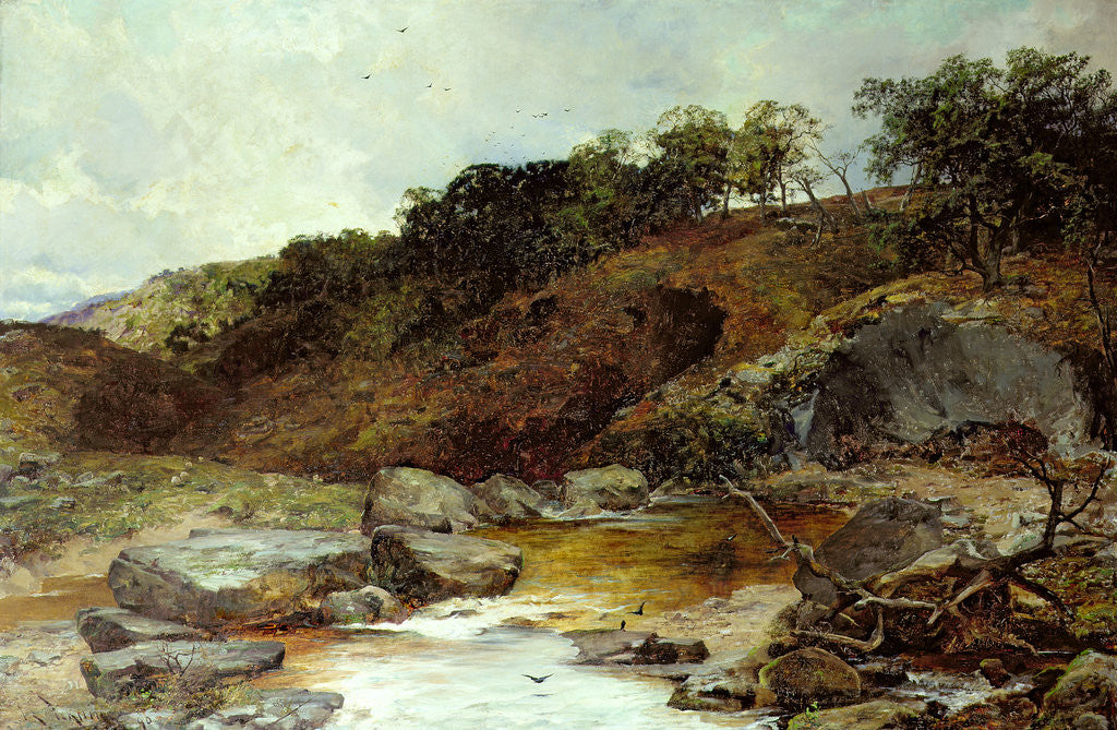 Detail of Eskdale, 1890 by Joseph Langsdale Pickering