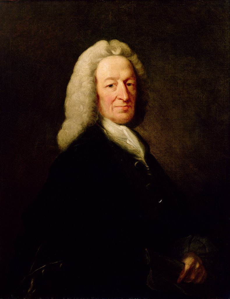 Detail of Portrait of Judge Richard Wilson by Benjamin Wilson