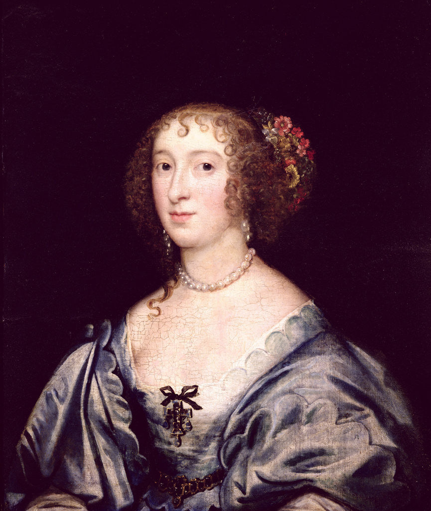 Detail of Portrait of Lady Hungate by English School