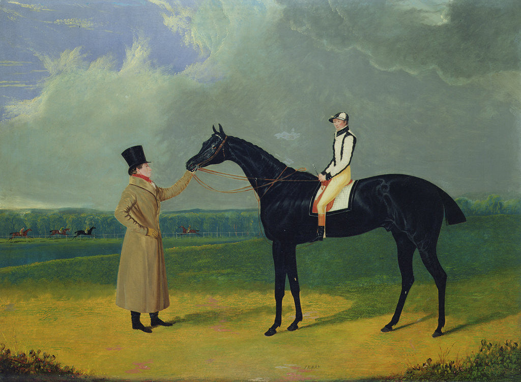 Detail of Jerry, Winner of the St. Leger 1824 by John Frederick Herring Snr