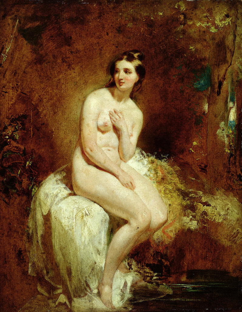 Detail of The Bather by William Etty