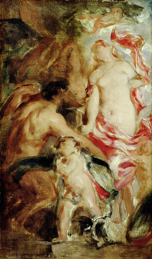 Detail of Allegorical Study, A Sketch by William Etty