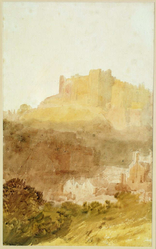 Detail of Durham Castle by Joseph Mallord William Turner