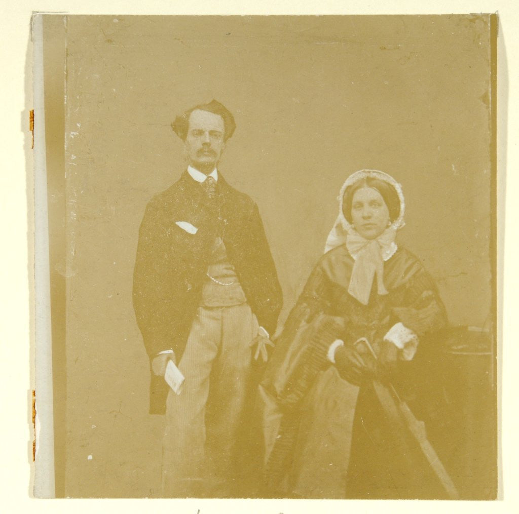 John Atkinson Grimshaw and Theodosia Grimshaw by British Photographer