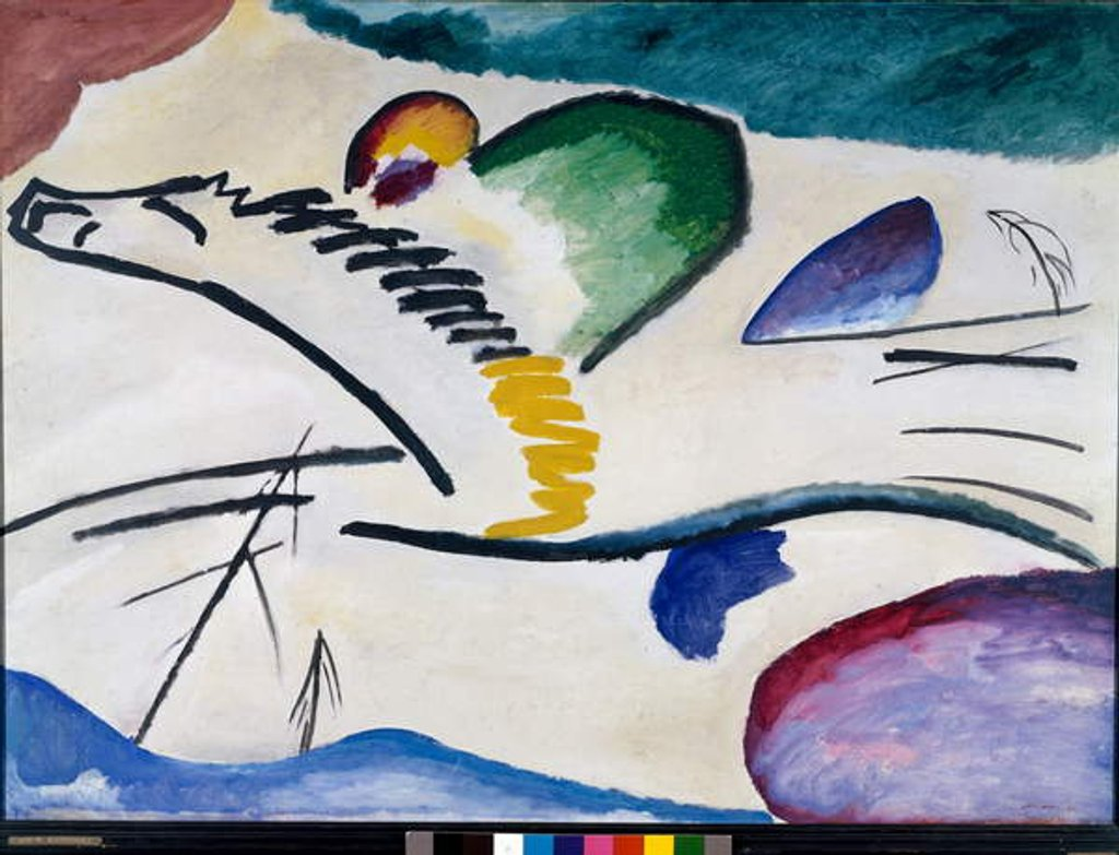 Detail of Lyric by Wassily Kandinsky
