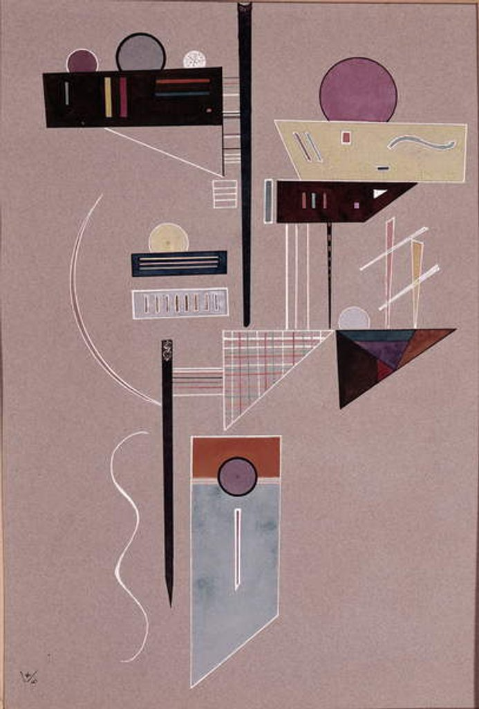 Detail of Composition by Wassily Kandinsky