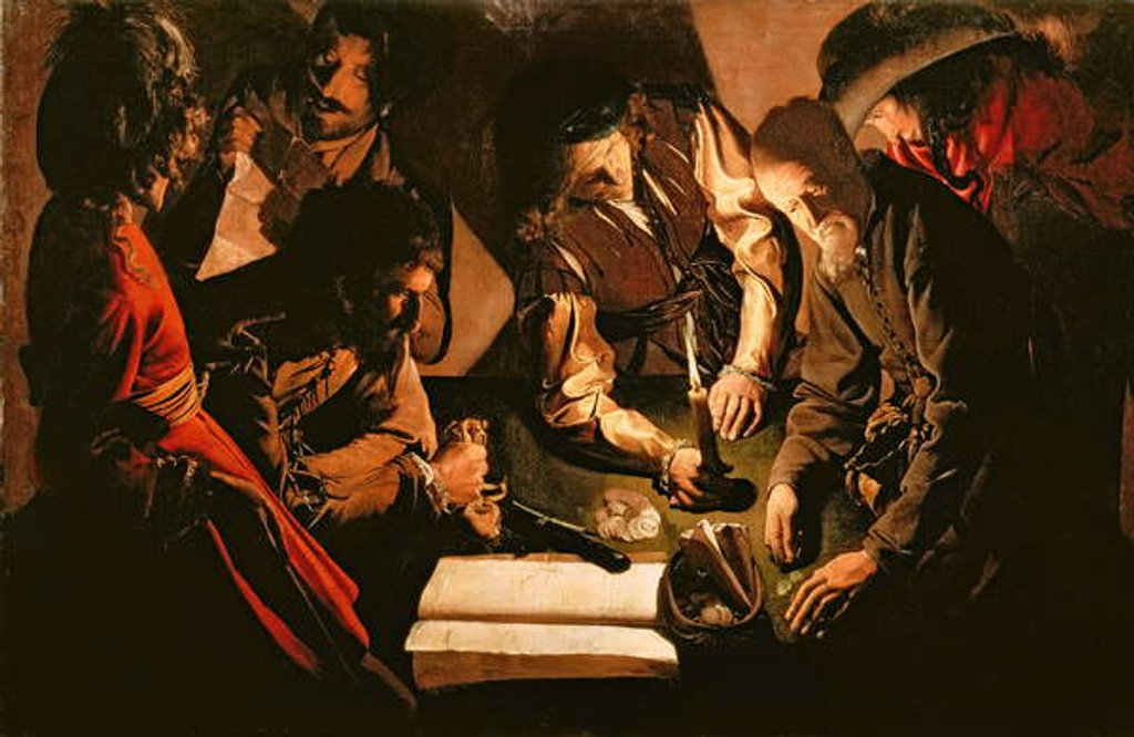 Payment of Taxes, c.1620 by Georges de la Tour