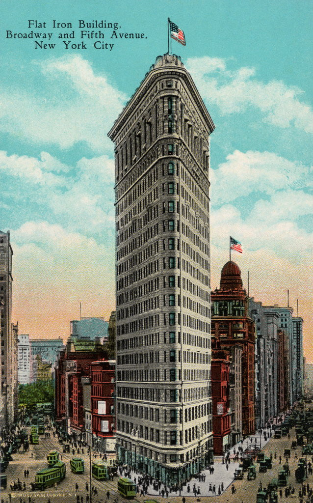 Flat Iron Building at Broadway and Fifth by Corbis