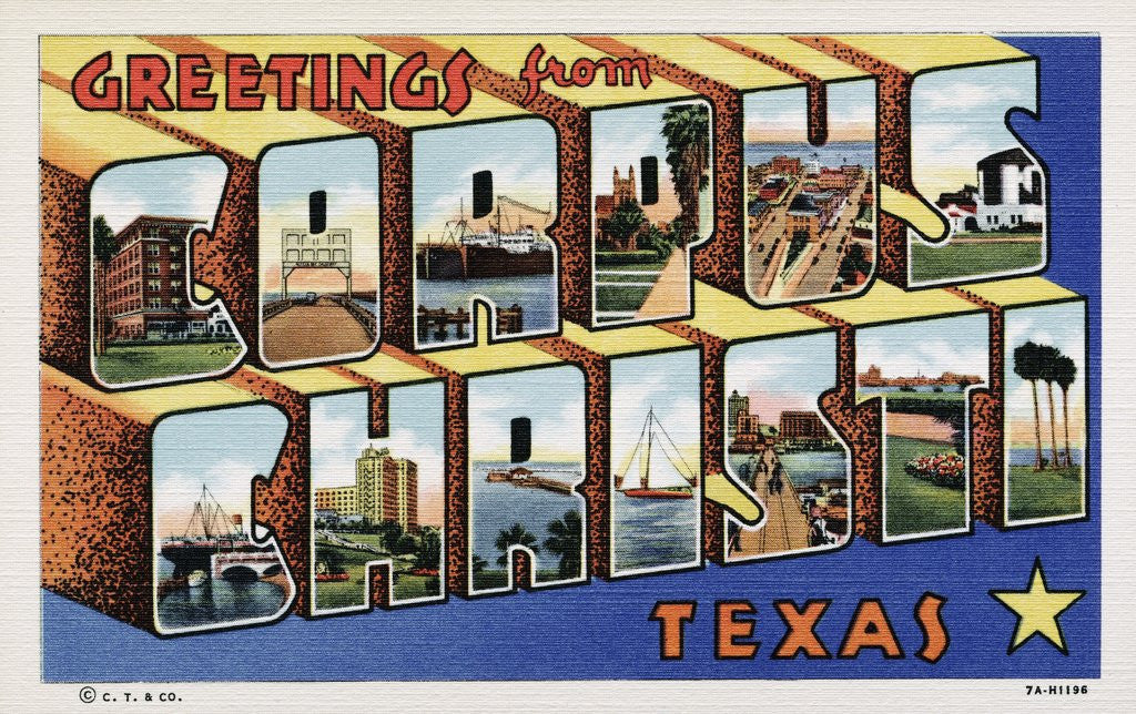 Greeting Card from Corpus Christ, Texas by Corbis