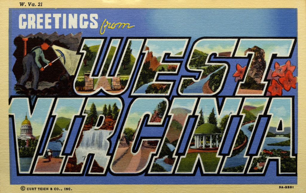 Greeting Card from West Virginia by Corbis