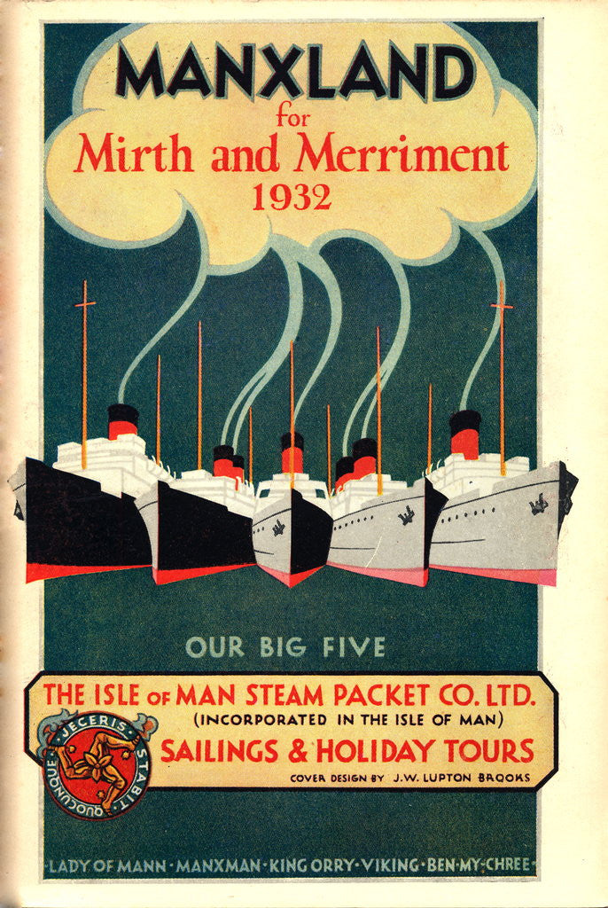 Detail of Sailings & Holiday Tours Season 1932 by Isle of Man Steam Packet Co. Ltd.