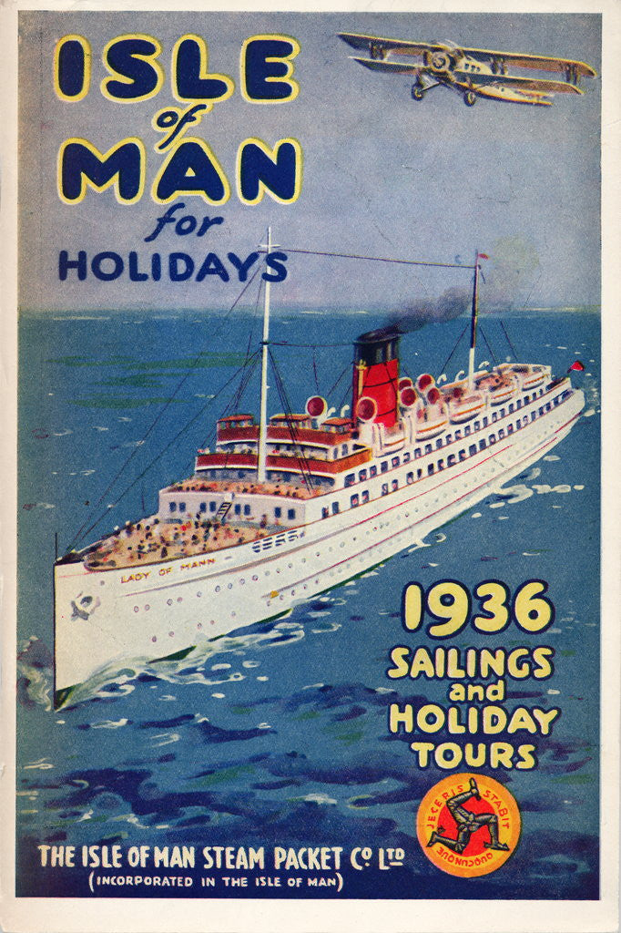 Detail of Sailings & Holiday Tours Season 1936 by Isle of Man Steam Packet Co. Ltd.