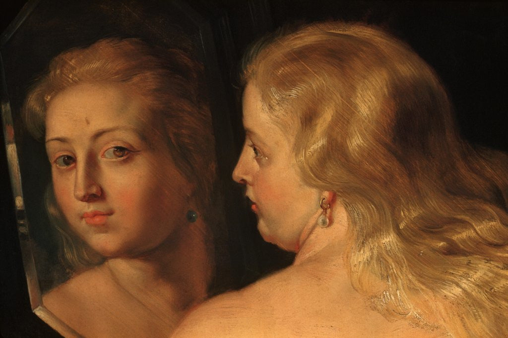 Detail of Detail of The Toilet of Venus by Peter Paul Rubens