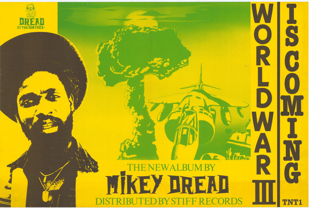 Detail of Mikey Dread poster by Rokpool