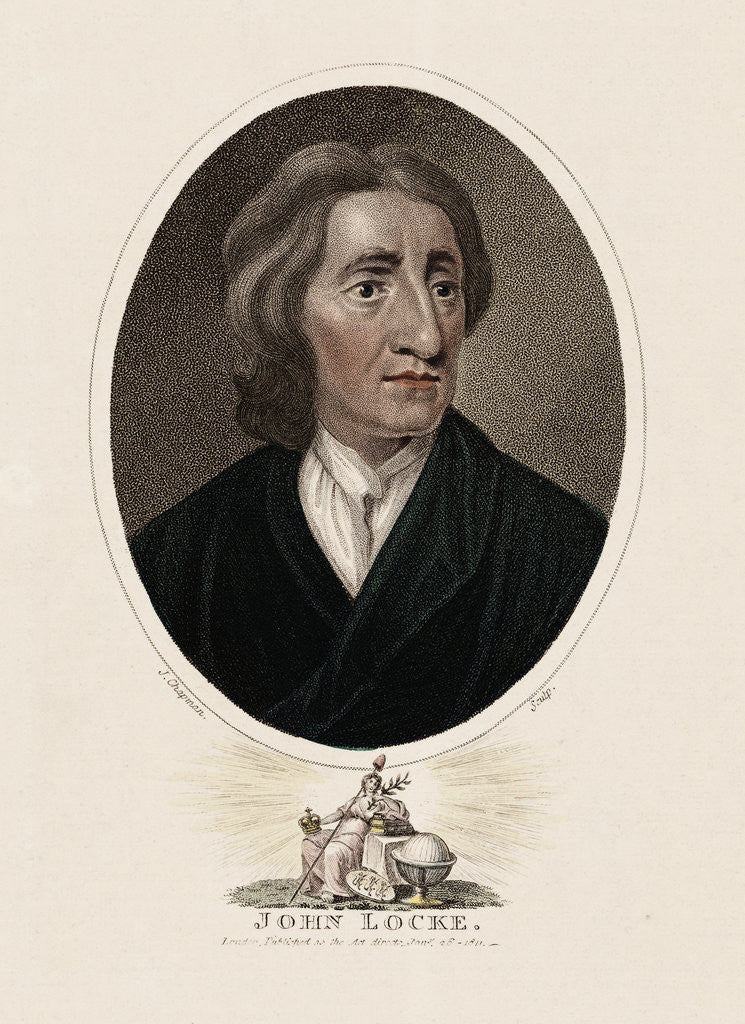 Philosopher John Locke by Corbis