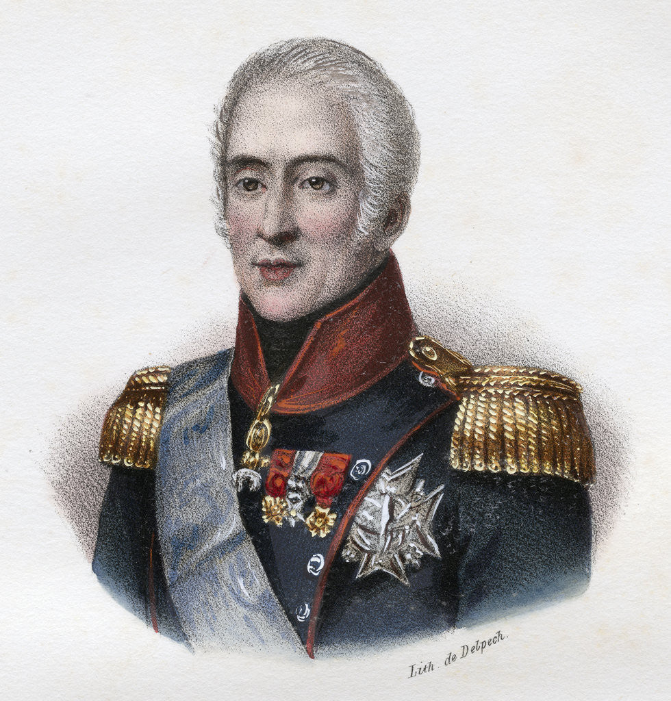 Detail of Charles X by Corbis