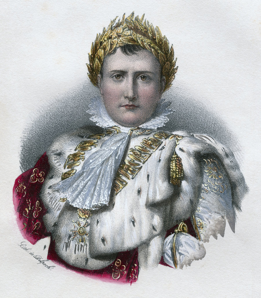 Detail of Napoleon by Corbis