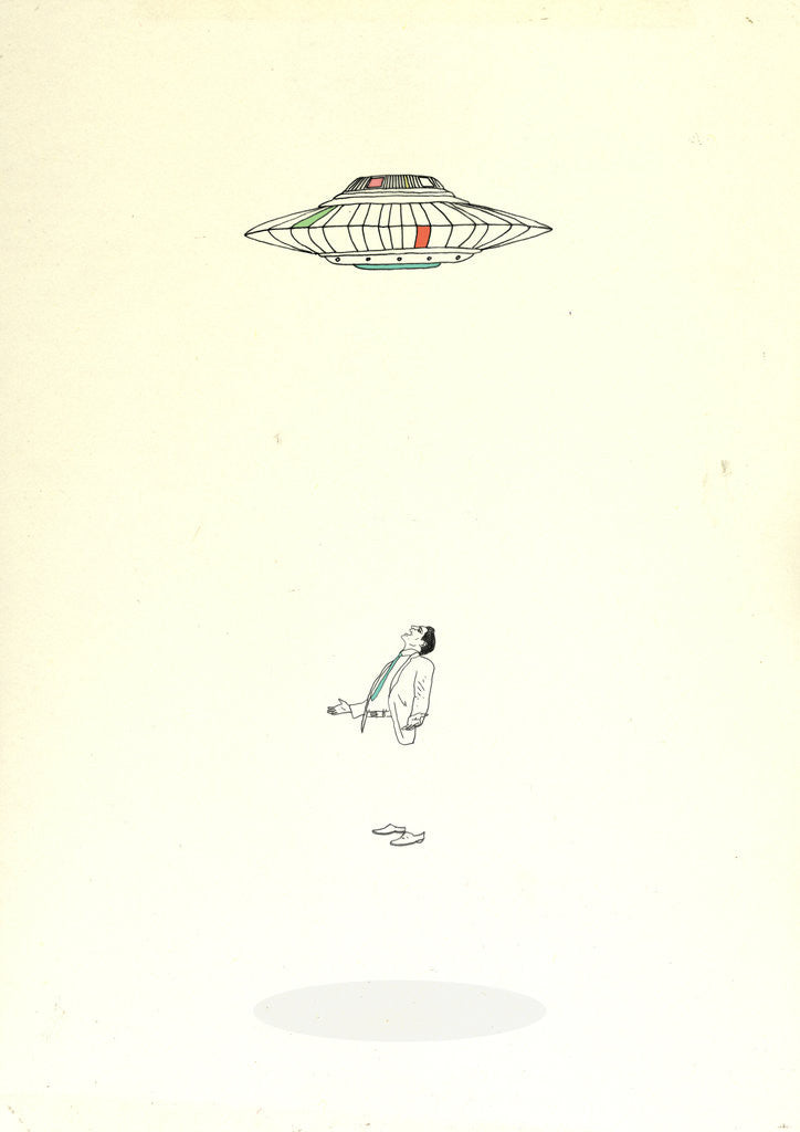 Detail of UFO by Monsieur Cabinet