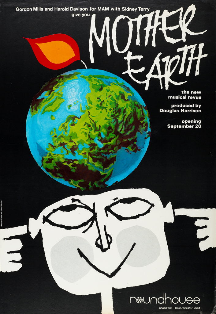 Detail of Mother Earth, the New Musical Revue by Anonymous