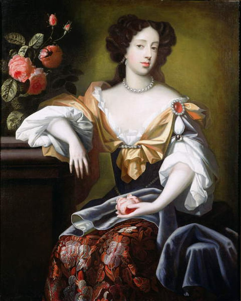 Portrait of Mary of Modena, c.1680 by Simon Peeterz Verelst