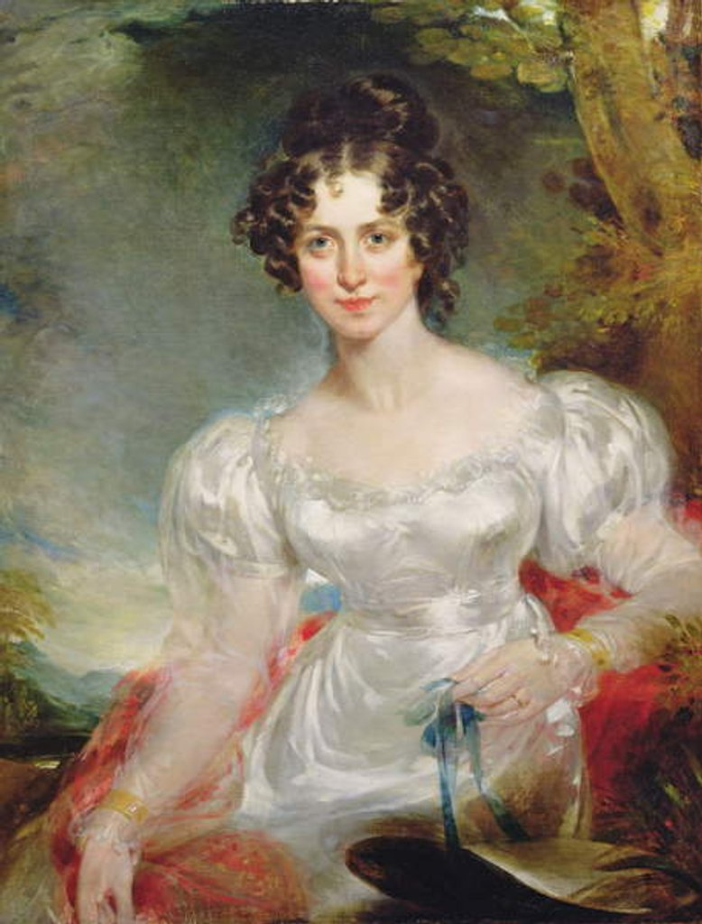 Detail of Portrait of Lady Anne Bentinck, c.1816 by Thomas Lawrence