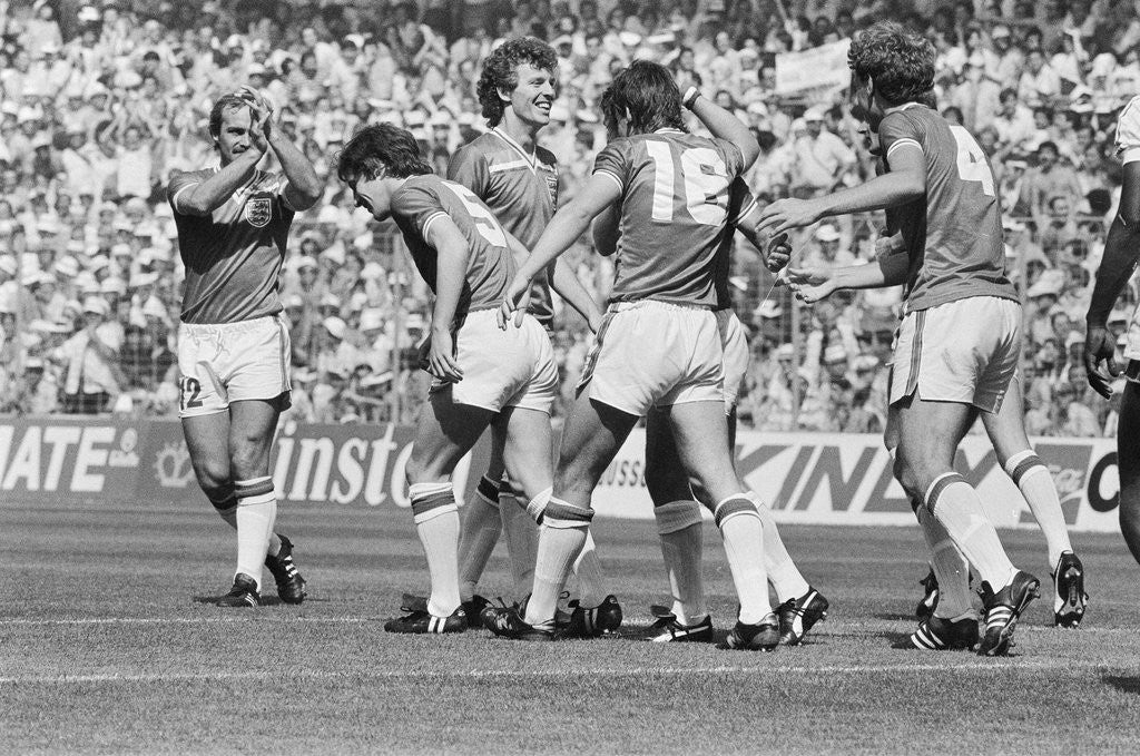 Detail of 1982 World Cup Finals by Allan Olley