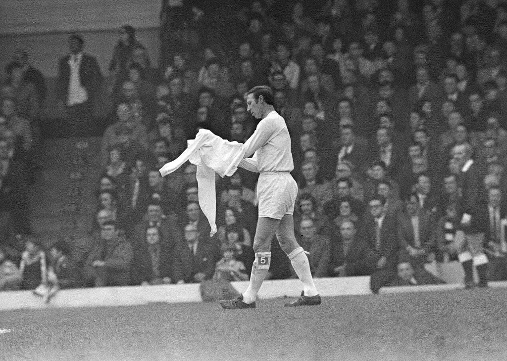 Detail of FA Cup Quarter Final match at Elland Road. Leeds United 2 v Tottenham Hotspur 1. by Peter Cook