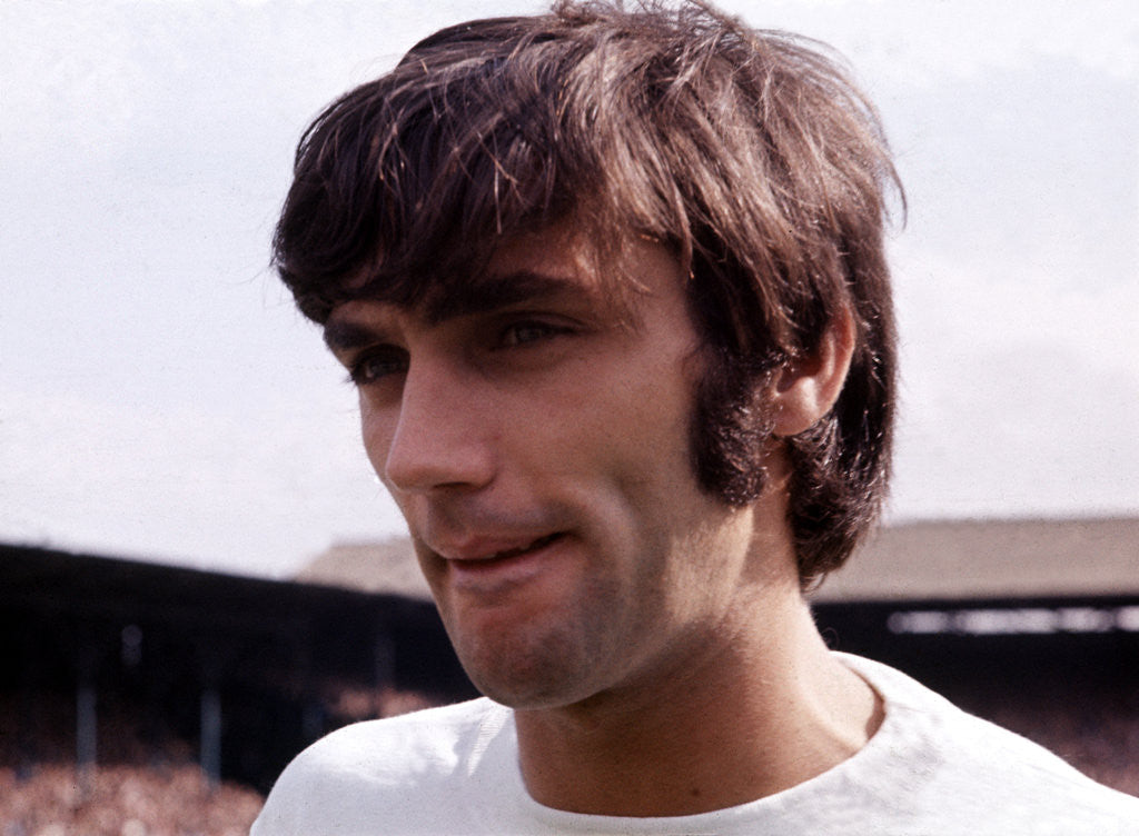 Detail of George Best by MSI