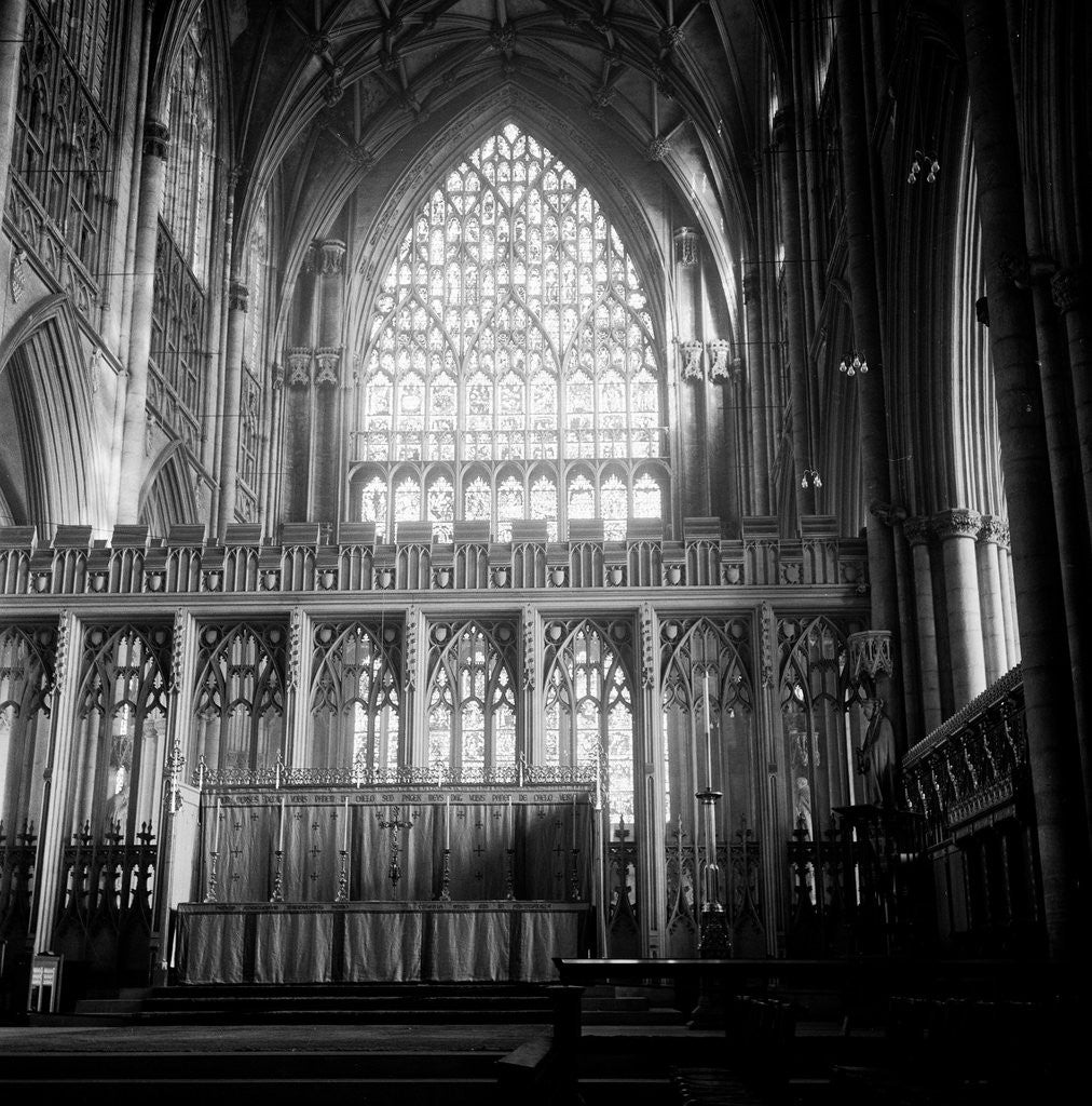 Detail of York Minster Interior by Varley/Chapman