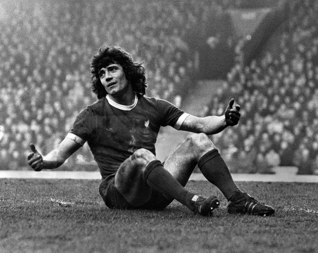 Detail of Liverpool 5-2 Ipswich Town, 8th February 1975 by Staff