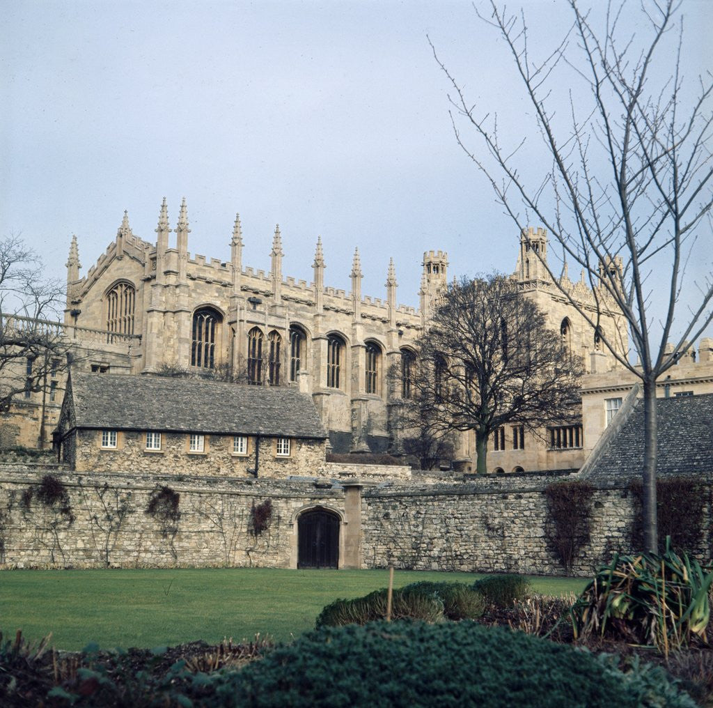 Detail of Christ College Oxford by Anonymous