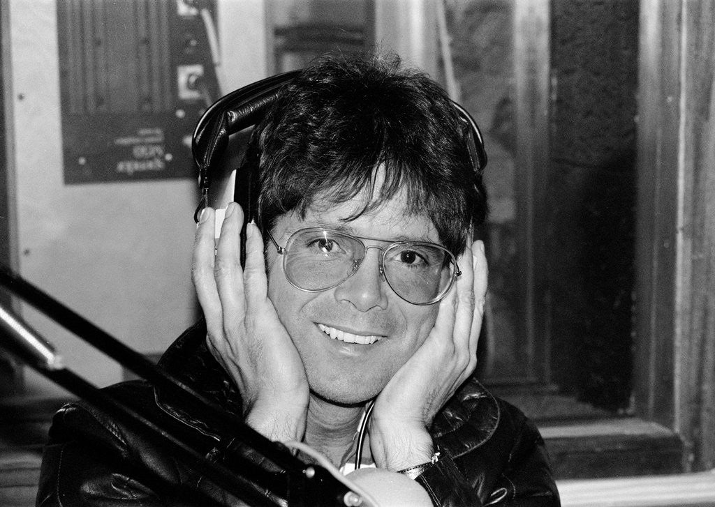 Detail of Cliff Richard at Capital Radio by Staff