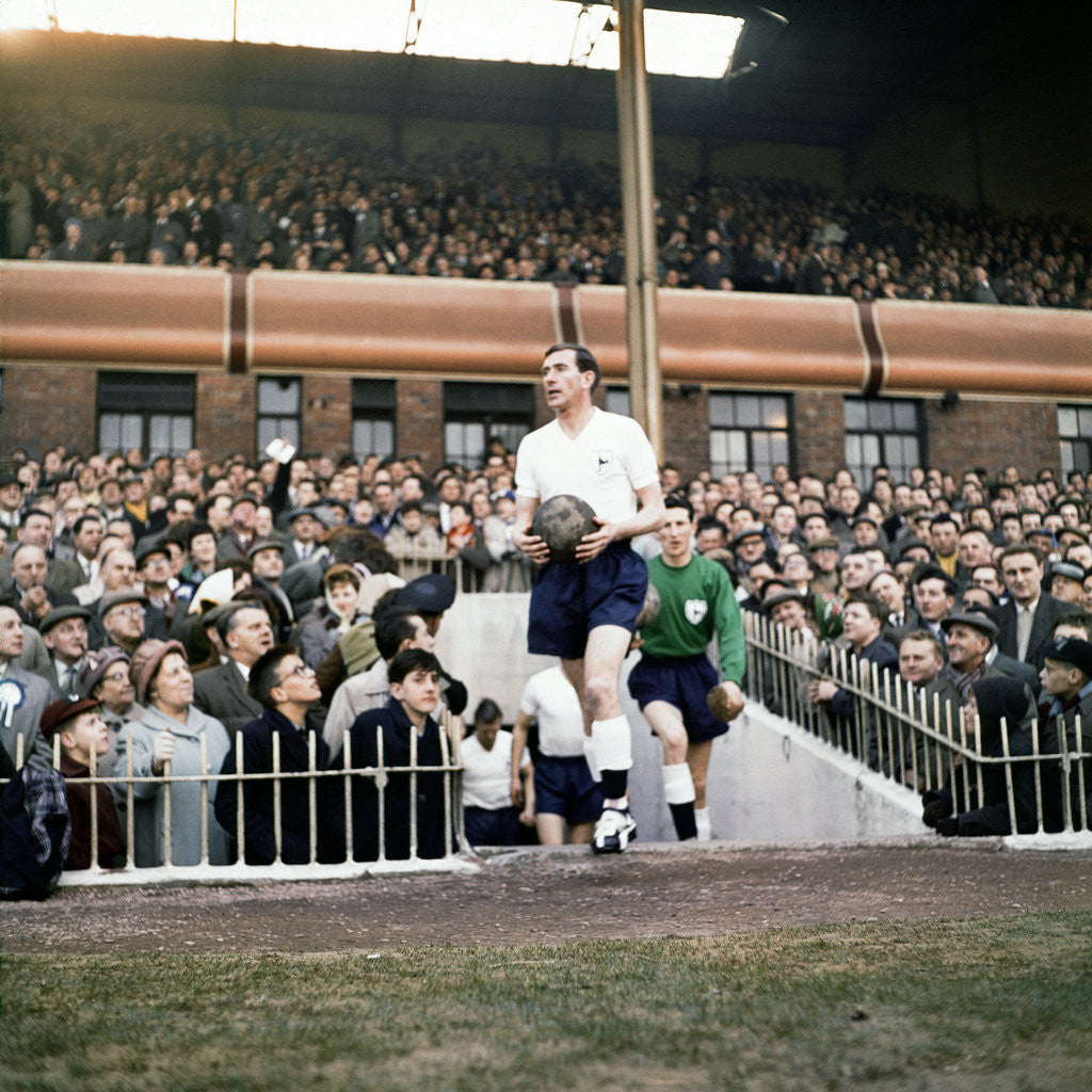 Detail of 1960-1961 Tottenham Hotspur Double Winning Season by JONES