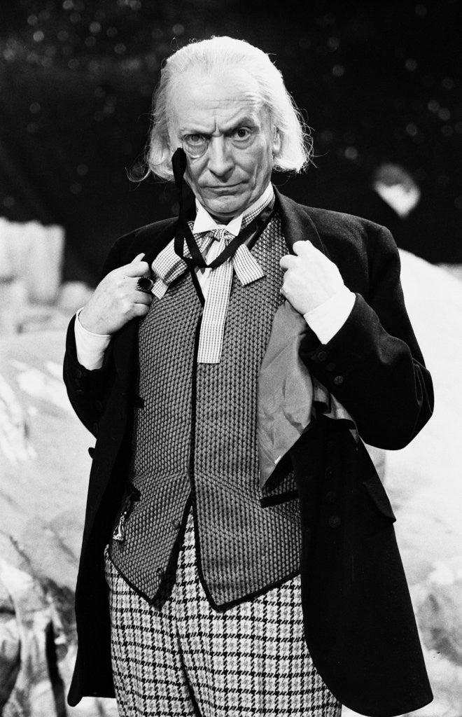 Detail of William Hartnell - the first Doctor by Sunday Mirror