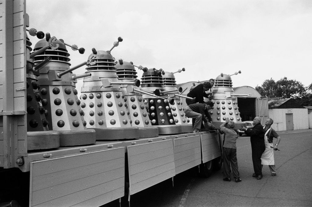 Detail of Lorry load of Daleks by Water