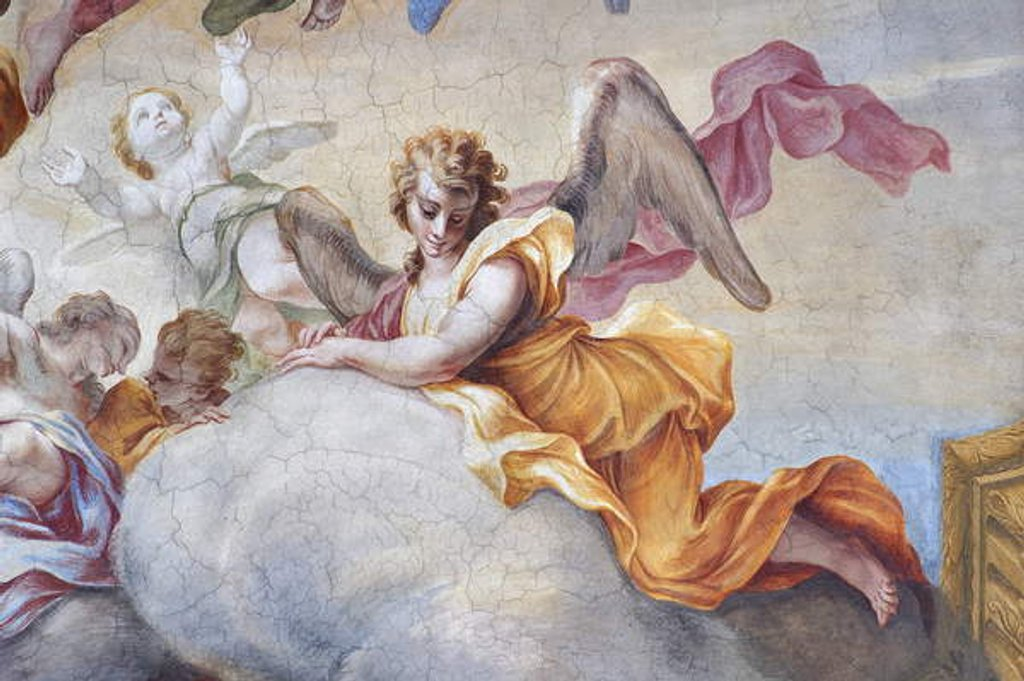 Detail of Angel by Stefano Maria Legnani