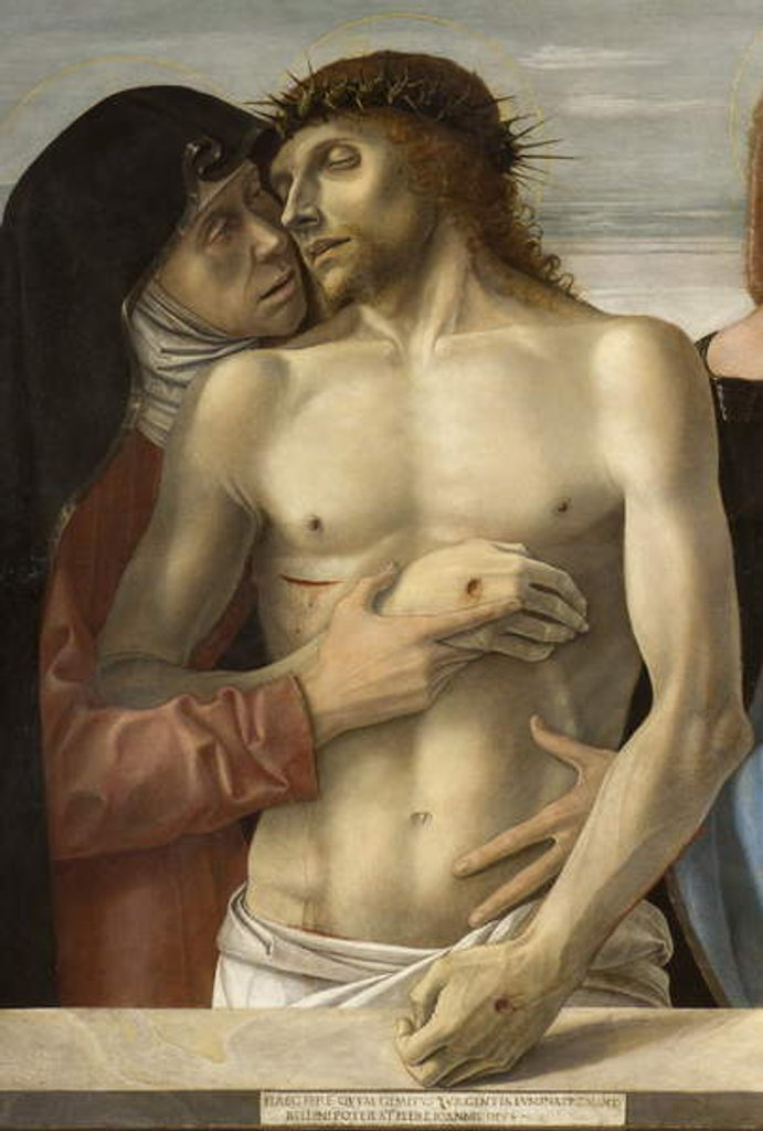 Detail of Pieta, c.1467-70 by Giovanni Bellini