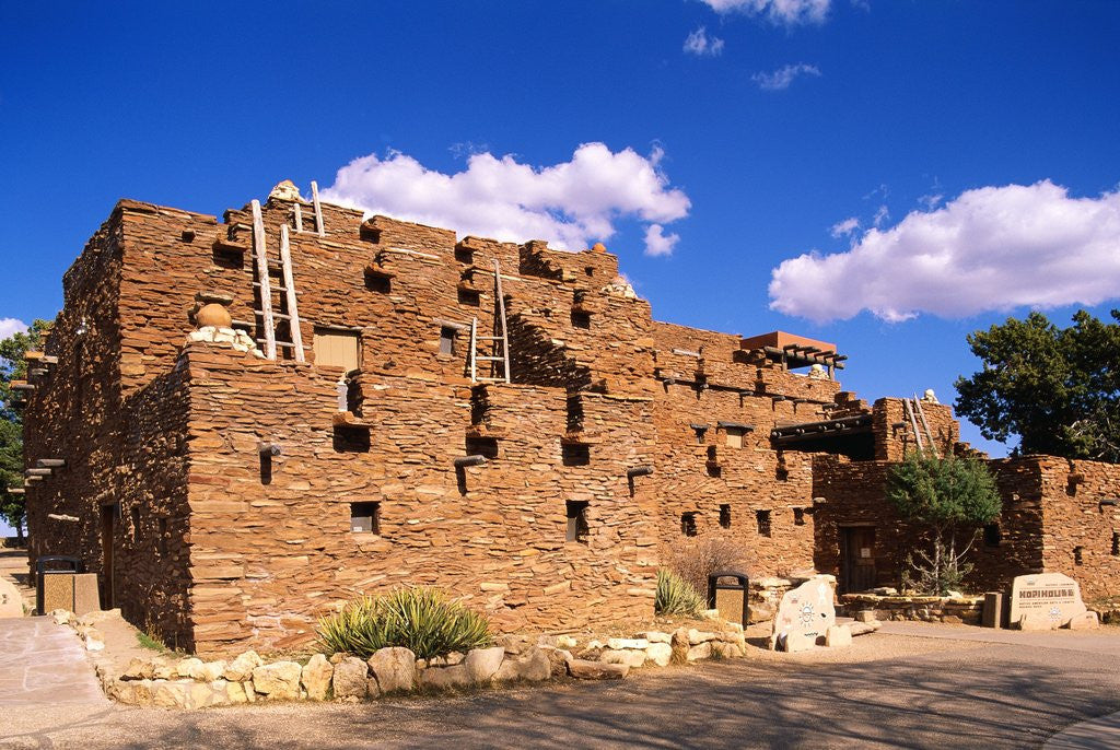 Detail of Hopi House by Corbis