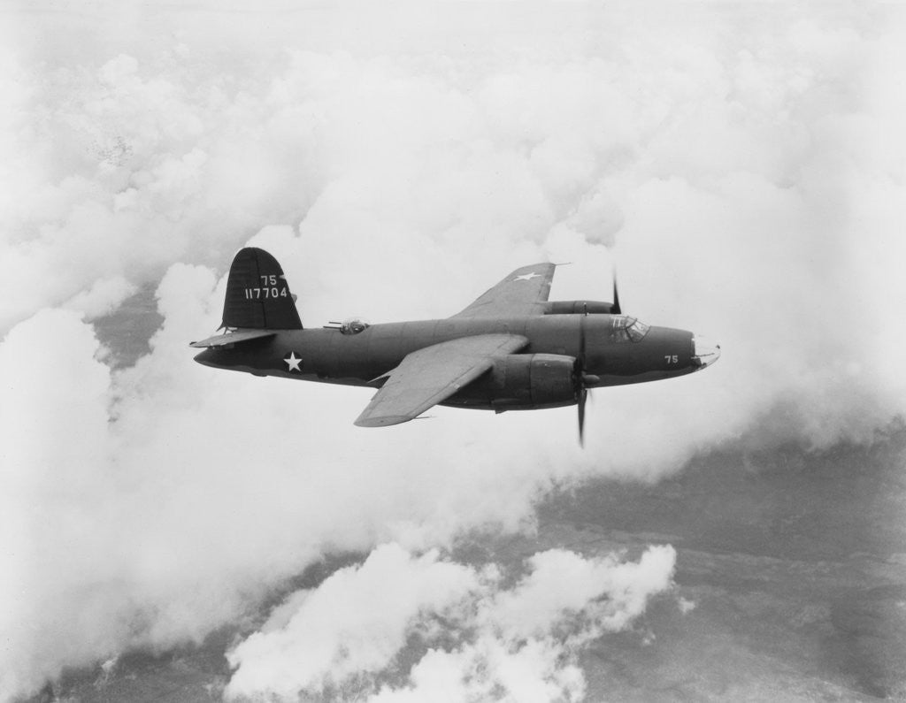 Detail of Martin B-26 Bomber by Corbis