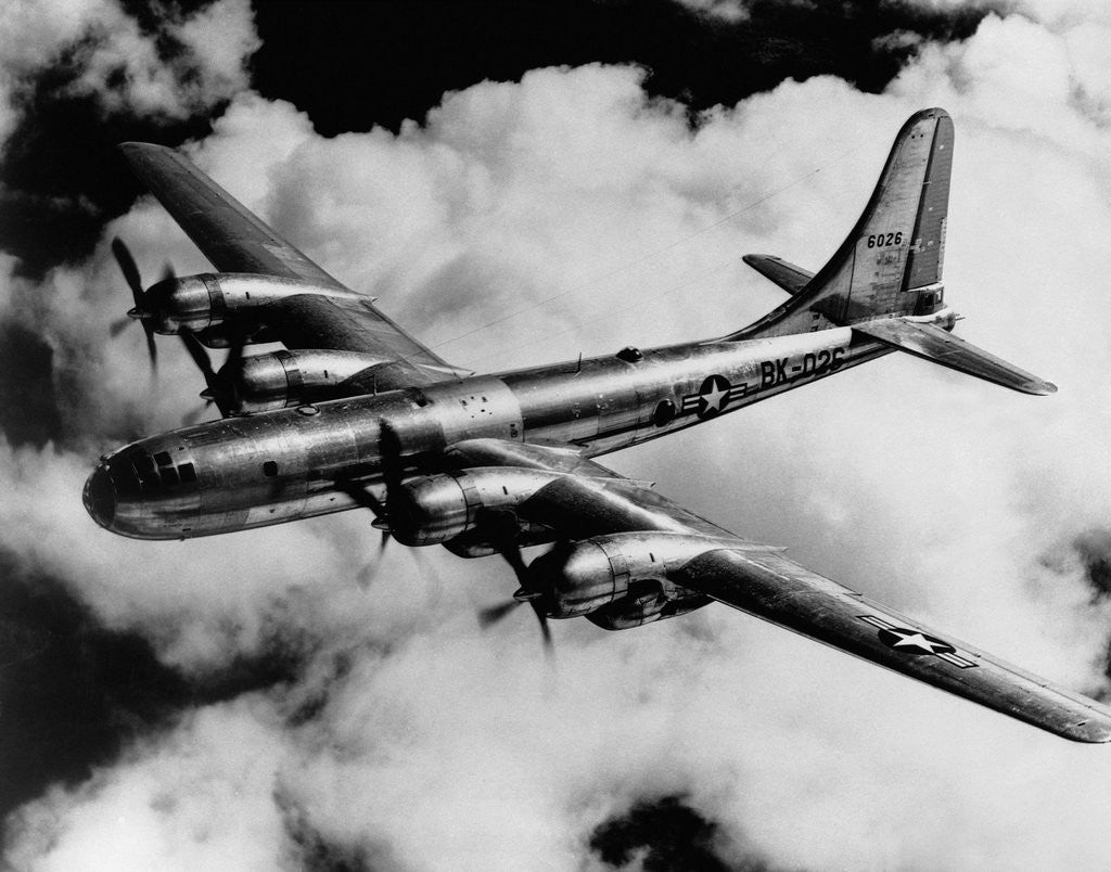 Detail of Boeing B-50A Superfortress in Flight by Corbis