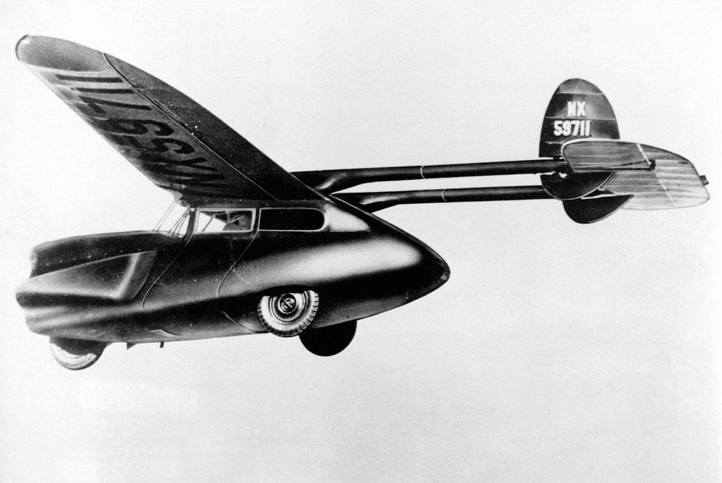 Detail of Flying Car by Corbis